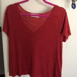 PROJECT SOCIAL TEE RED XS